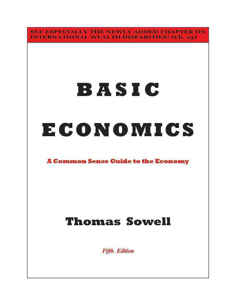 Basic Economics By Sowell, Thomas